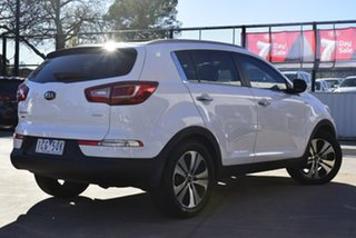 2013 Kia Sportage SL Series II MY13 Platinum White 6 Speed Sports Automatic Wagon