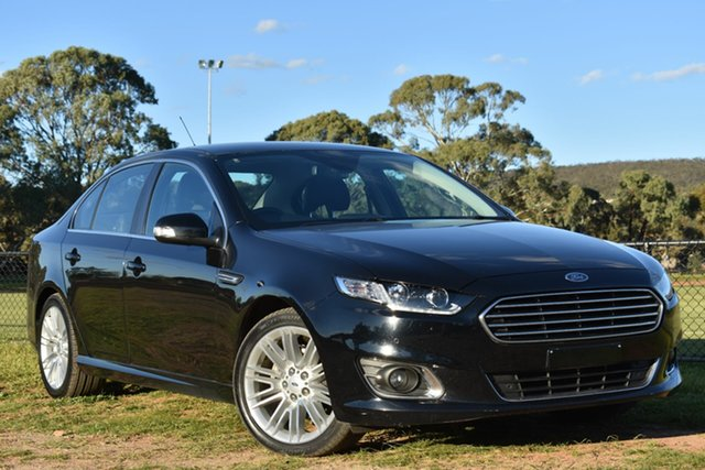 Used Ford Falcon FG X G6E, 2015 Ford Falcon FG X G6E Black 6 Speed Sports Automatic Sedan