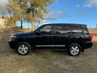 2015 Toyota Landcruiser VDJ200R MY13 Sahara (4x4) Ebony 6 Speed Automatic Wagon