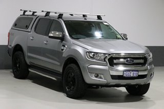 2016 Ford Ranger PX MkII XLT 3.2 (4x4) Silver 6 Speed Automatic Dual Cab Utility