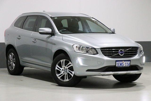 Used Volvo XC60 DZ MY14 T5 Luxury, 2014 Volvo XC60 DZ MY14 T5 Luxury Silver 6 Speed Auto Dual Clutch Wagon