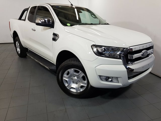 Used Ford Ranger PX MkII XLT Super Cab, 2015 Ford Ranger PX MkII XLT Super Cab White 6 Speed Manual Utility