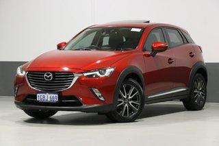2016 Mazda CX-3 DK Akari (FWD) Red 6 Speed Automatic Wagon.