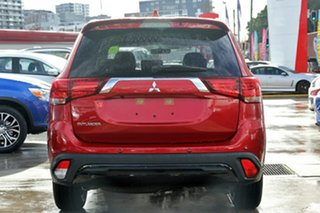 2020 Mitsubishi Outlander ZL MY20 Black Edition 2WD Red Diamond 6 Speed Constant Variable Wagon