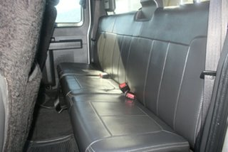 2011 Ford F350 MY12 LARIAT Silver Automatic Cab Chassis