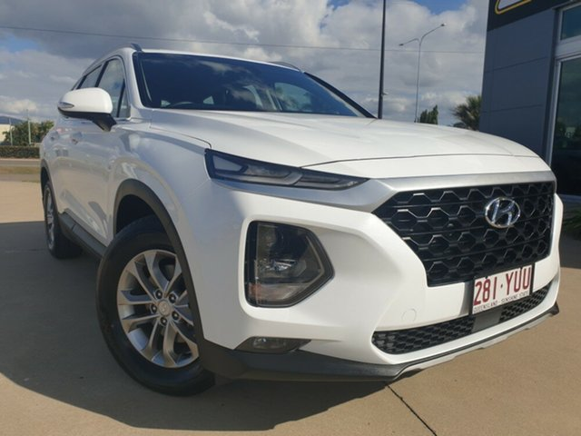 Used Hyundai Santa Fe TM MY19 Active, 2018 Hyundai Santa Fe TM MY19 Active White 8 Speed Sports Automatic Wagon
