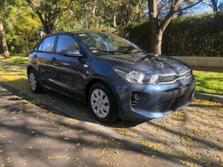 2017 Kia Rio YB MY17 S Blue 4 Speed Sports Automatic Hatchback.