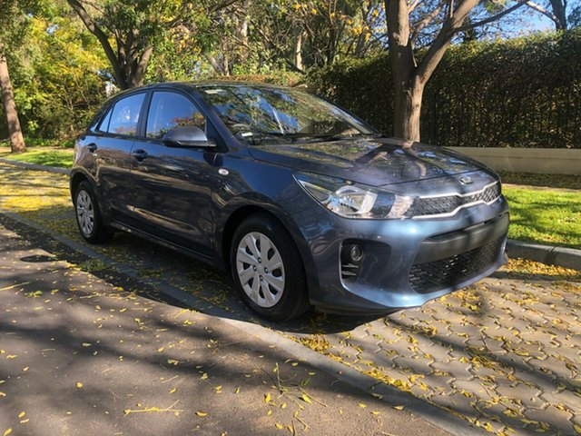 Used Kia Rio YB MY17 S, 2017 Kia Rio YB MY17 S Blue 4 Speed Sports Automatic Hatchback