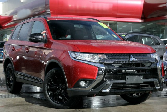New Mitsubishi Outlander ZL MY21 Black Edition 7 Seat (2WD) Gunnedah, 2021 Mitsubishi Outlander ZL MY21 Black Edition 7 Seat (2WD) Red Diamond 6 Speed CVT Auto Sequential