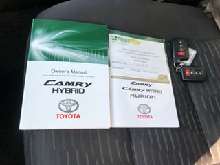 2015 Toyota Camry AVV50R Hybrid H White 1 Speed Constant Variable Sedan Hybrid