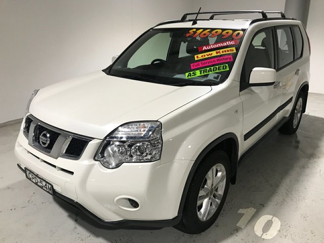 Used Nissan X-Trail T31 Series V ST, 2013 Nissan X-Trail T31 Series V ST White 1 Speed Constant Variable Wagon
