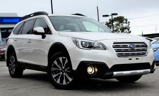 Used Subaru Outback B6A MY16 2.0D CVT AWD Premium, 2016 Subaru Outback B6A MY16 2.0D CVT AWD Premium White 7 Speed Constant Variable Wagon