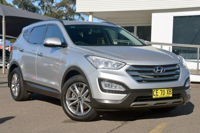 Used Hyundai Santa Fe DM2 MY15 Elite, 2015 Hyundai Santa Fe DM2 MY15 Elite Silver 6 Speed Sports Automatic Wagon