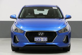 2017 Hyundai i30 PD Active Blue 6 Speed Auto Sequential Hatchback.