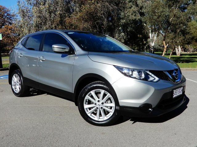 Used Nissan Qashqai J11 ST, 2015 Nissan Qashqai J11 ST Silver 1 Speed Constant Variable Wagon