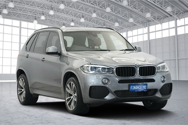 Used BMW X5 F15 xDrive30d, 2014 BMW X5 F15 xDrive30d Grey 8 Speed Sports Automatic Wagon