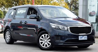 2016 Kia Carnival YP MY16 S Blue 6 Speed Sports Automatic Wagon.