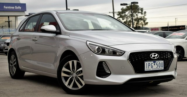Used Hyundai i30 PD MY18 Active, 2017 Hyundai i30 PD MY18 Active Silver 6 Speed Sports Automatic Hatchback