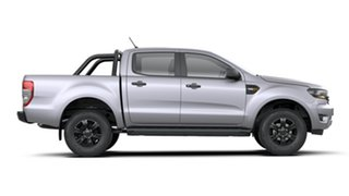 2020 Ford Ranger PX MkIII 2021.25MY XLS Aluminium 6 Speed Sports Automatic Double Cab Pick Up.