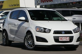 2016 Holden Barina TM MY16 CD White 5 Speed Manual Hatchback.