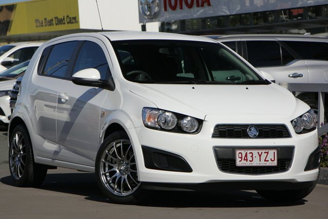 Used Holden Barina TM MY16 CD, 2016 Holden Barina TM MY16 CD White 5 Speed Manual Hatchback