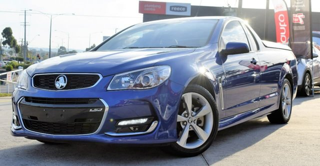 Used Holden Ute VF II MY16 SS Ute, 2016 Holden Ute VF II MY16 SS Ute Blue 6 Speed Sports Automatic Utility