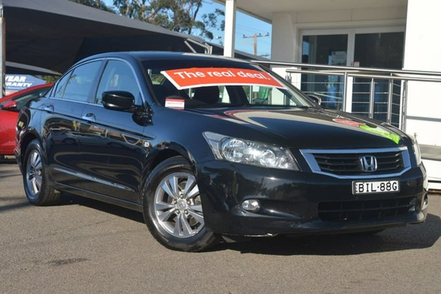 Used Honda Accord 8th Gen V6, 2008 Honda Accord 8th Gen V6 Black 5 Speed Sports Automatic Sedan