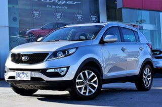 2014 Kia Sportage SL MY14 Si 2WD Premium Silver 6 Speed Sports Automatic Wagon.