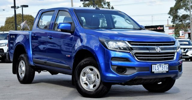 Used Holden Colorado RG MY17 LS Pickup Crew Cab, 2017 Holden Colorado RG MY17 LS Pickup Crew Cab Blue 6 Speed Sports Automatic Utility
