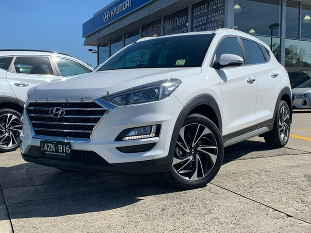 Demo Hyundai Tucson TLE3 MY19 Special Edition D-CT AWD, 2018 Hyundai Tucson TLE3 MY19 Special Edition D-CT AWD Polar White 7 Speed
