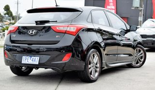 2015 Hyundai i30 GD3 Series II MY16 SR Black 6 Speed Sports Automatic Hatchback.