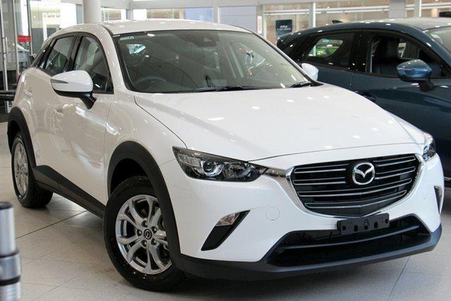 New Mazda CX-3 DK4W7A Maxx SKYACTIV-Drive i-ACTIV AWD Sport, 2019 Mazda CX-3 DK4W7A Maxx SKYACTIV-Drive i-ACTIV AWD Sport Snowflake White 6 Speed