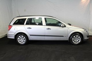 2008 Holden Astra AH MY08 CD Silver 4 Speed Automatic Wagon.