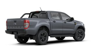 2020 Ford Ranger PX MkIII 2021.25MY XLS Grey 6 Speed Sports Automatic Utility
