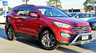 2014 Hyundai Santa Fe DM2 MY15 Active Red/Black 6 Speed Sports Automatic Wagon.