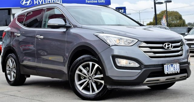 Used Hyundai Santa Fe DM2 MY15 Elite, 2014 Hyundai Santa Fe DM2 MY15 Elite Silver 6 Speed Sports Automatic Wagon