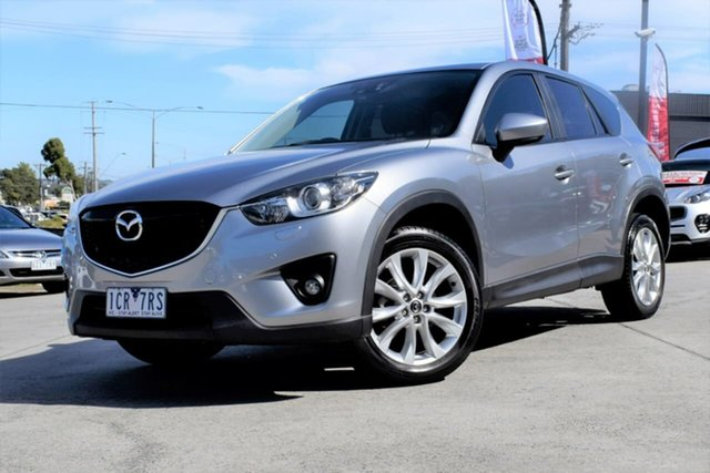 Used Mazda CX-5 KE1031 MY14 Akera SKYACTIV-Drive AWD, 2014 Mazda CX-5 KE1031 MY14 Akera SKYACTIV-Drive AWD Silver 6 Speed Sports Automatic Wagon