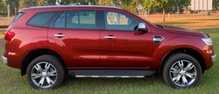 2017 Ford Everest UA Titanium Maroon 6 Speed Sports Automatic Wagon.