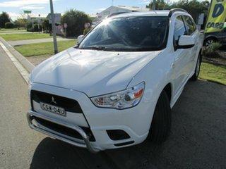 2012 Mitsubishi ASX ASX 2WD White 6 Speed Automatic Wagon.