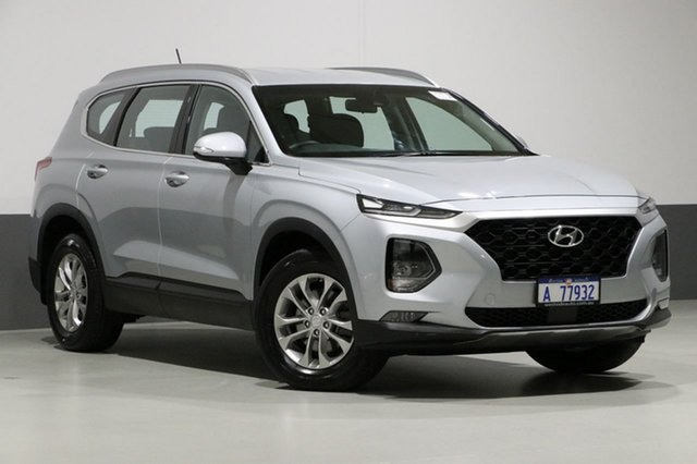 Used Hyundai Santa Fe TM Active CRDi (AWD), 2018 Hyundai Santa Fe TM Active CRDi (AWD) Silver 8 Speed Automatic Wagon