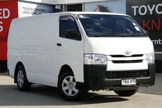 2016 Toyota HiAce KDH201R MY15 LWB White 4 Speed Automatic Van.