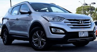 2013 Hyundai Santa Fe DM MY13 Active Silver 6 Speed Sports Automatic Wagon.