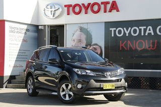 2014 Toyota RAV4 ZSA42R GXL (2WD) Black 6 Speed Manual Wagon.