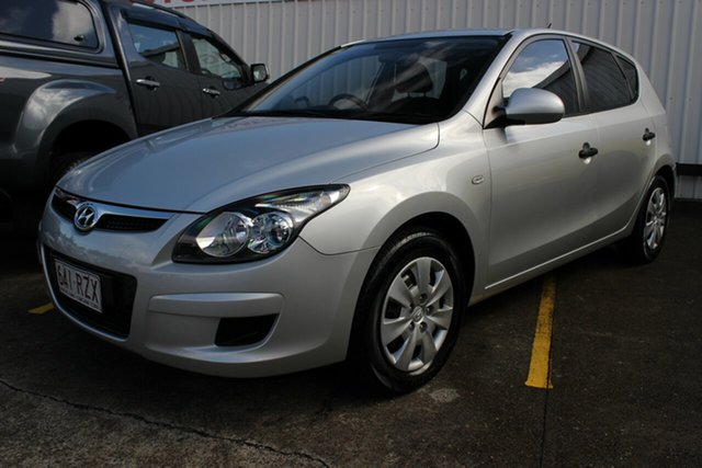 Used Hyundai i30 FD MY11 SX, 2011 Hyundai i30 FD MY11 SX Buran Silver 5 Speed Manual Hatchback