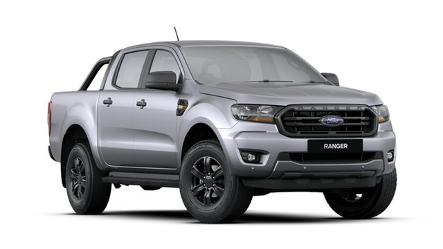 New Ford Ranger PX MkIII 2020.25MY Sport Pick-up Double Cab, 2020 Ford Ranger PX MkIII 2020.25MY Sport Pick-up Double Cab Aluminium 6 Speed Sports Automatic