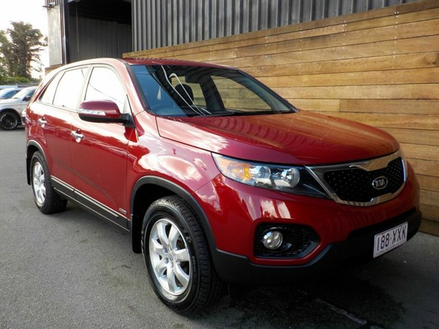Used Kia Sorento XM MY10 SI, 2010 Kia Sorento XM MY10 SI Red 6 Speed Sports Automatic Wagon