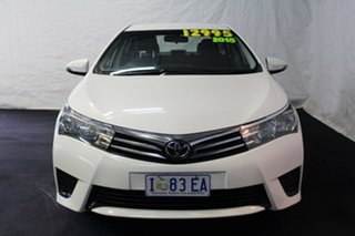 2015 Toyota Corolla ZRE172R Ascent S-CVT White 7 Speed Constant Variable Sedan.