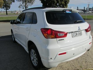 2012 Mitsubishi ASX ASX 2WD White 6 Speed Automatic Wagon