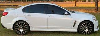 2015 Holden Commodore VF MY15 SV6 White 6 Speed Sports Automatic Sedan.