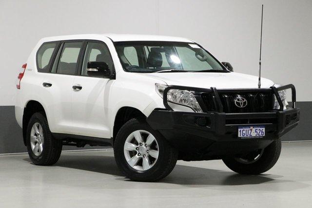Used Toyota Landcruiser Prado KDJ150R MY14 GX (4x4), 2014 Toyota Landcruiser Prado KDJ150R MY14 GX (4x4) White 5 Speed Sequential Auto Wagon